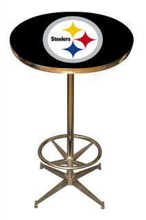 Pittsburgh Steelers Logo 41 Breakfast Bar Pub Table