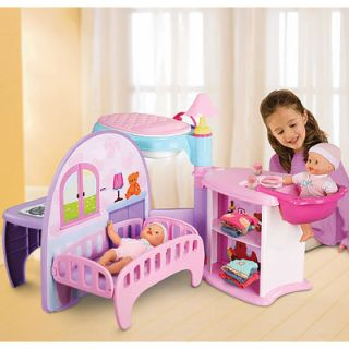 Fisher Price Little Mommy Nusery Play Center Free SHIP
