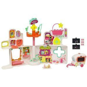 Littlest Pet Shop Rescue Tails Center Playset Hospital Free Shipping
