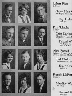 1925 Long Beach CA Polytechnic High School Yearbook