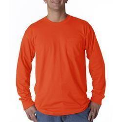 Russell Outdoors 0020 Blaze Orange Long Sleeve Tees Sz XL