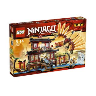 Lego Ninjago 2507 Fire Temple Brand New Factory SEALED Box
