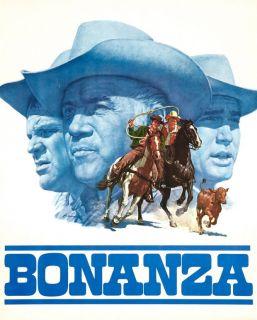 Bonanza Lovely Art Poster Lorne Greene 1966 Unik