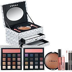 Lorac Bejeweled Day Night Makeup Collection w Jewelry Box Day Night