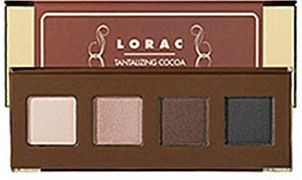 LORAC Eye Candy Shadow Set Tantalizing Cocoa Bronze Palette Great Gift