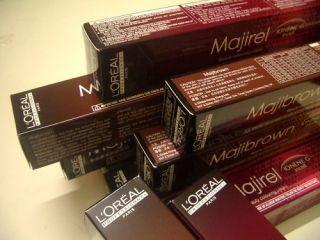 Loreal Majirel Metallic Red Copper Cold Warm Brown
