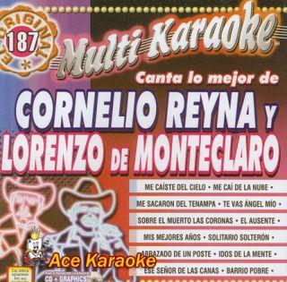 0187 Canta Lo Mejor de Cornelio Reyna Y Lorenzo de Monteclaro C