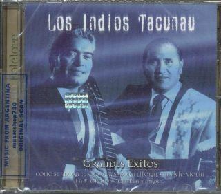 Los Indios Tacunau Oro Grandes Exitos SEALED CD New