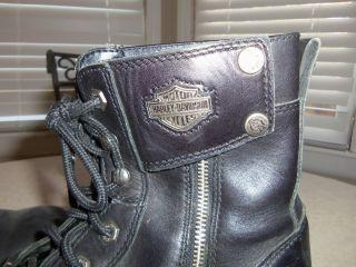 Mens Harley Davidson Boots Sz 10