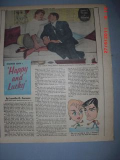 Doris Day from Louella Parson Page from 5 28 1956