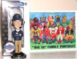 Notre Dame Coach Lou Holtz Bobblehead Bobble Free Picture