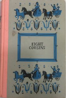 Vintage Eight Cousins Book ©1958 Great Condition by Louisa May Alcott