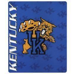 Licensed University of Kentucky Ultra Soft Fleece Blanket Throw 50 x