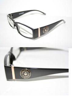 Louis V Eyewear Paris Nerd Clear Lense Glasses Geek Black Gold Round