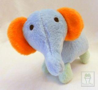 Elephant 5 Soft Baby Lovey Lovie Plush Mobile Crib Stroller Toy Chicco