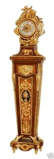 Louis XV Style Dore Bronze Grandfather Clock Royalty