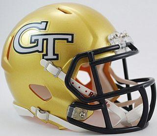Georgia Tech Yellow Jackets Riddell NCAA Revolution Speed Mini