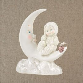 Fishing for Love Snow Dream Snowbabies baby Department 56 Christmas