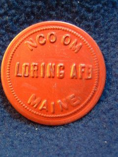 Loring Air Force Base Maine 25c Trade Token