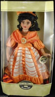 Luciana 17 Porcelain Doll Collectible Memories with COA Mint Black