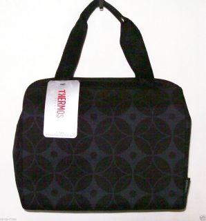 NWT 9 Can Insulated Lunch Box Bag Duffle Tote Cooler Purse by Thermos