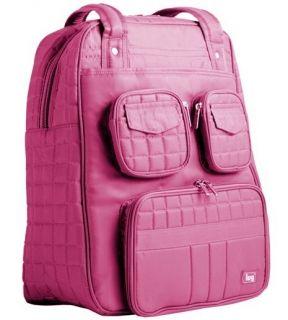 Lug Life Rose Pink Puddle Jumper Overnight Gym Bag Travel Carry Duffle