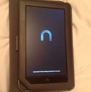 Barnes Noble Nook Color 8GB Wi Fi Black Plus Bundled Items