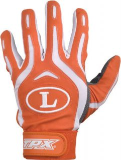 Louisville BG26 Pro Design Adult Batting Gloves Orange Small Pair