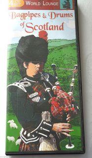Drums of Scotland 4 CD Set World Lounge Music Instrumental