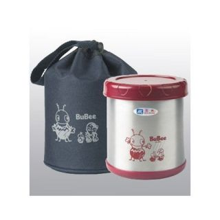 Bubee Stainless Steel Thermos Lunch Box Large