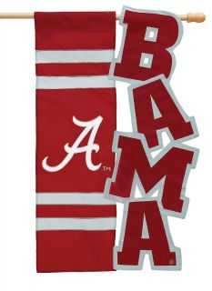 University of Alabama Crimson Tide Decorative Flag NCAA College