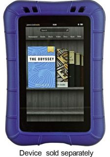 NEW M EDGE SUPERSHELL BLUE FOAM KINDLE FIRE CASE HELPS THOSE W