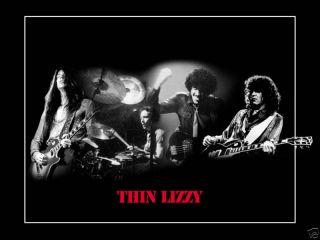 Very RARE Thin Lizzy Poster Phil Lynott Ireland Rock