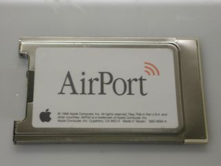 Apple IMRWLPC24H AIRPORT WIRELESS WIFI CARD FOR IMAC IBOOK G3 G4