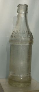 Old Mabscott West Virginia Coca Cola Bottle Raleigh