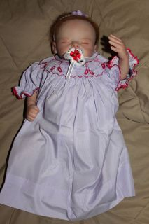 REBORN BABY GIRL SERA sculpt OOAK ART DOLL   Marissa May VALENTINE