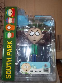South Park Mezco MR MACKEY rare OPEN mouth variant action figure