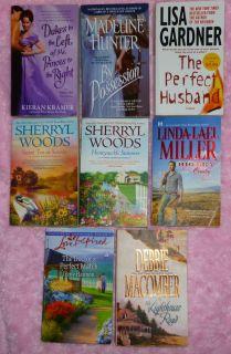 Paperback Books Mystery Suspense Romance Gardner HunterKramer Macomber