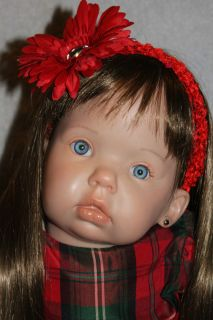 Reborn Toddler Baby Girl Tibby Sculpt by Donna RuBert