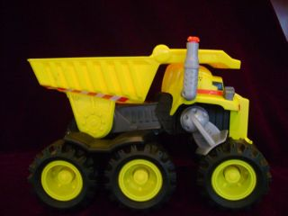 2009 Matchbox Deluxe Rocky The Robot Dump Truck interactive with two