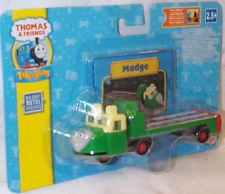MADGE Take Along n play Thomas Tank Friends diecast train NEW 2pc