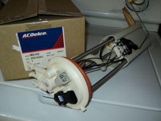 Fuel Pump Electric Chevy GMC New AC Delco MU152