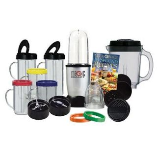 Magic Bullet 25 PC Blender Set Chop Mix Pitcher Blender