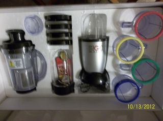 Magic Bullet Deluxe 25 PC Set with Blender Chopper Grinder New in Box
