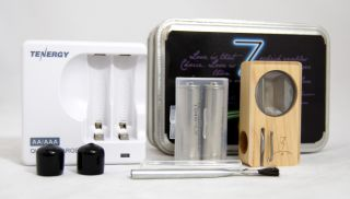 Magic Flight Launch Box Vaporizer Full Set Grinder