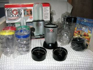 MAGIC BULLET Hi Speed Blender Mixer System with Bonus 4pc Blender