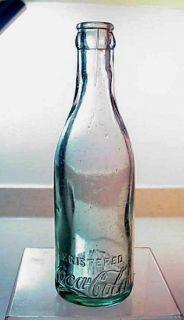 Charleston West Virginia Antique Aqua Coca Cola Bottle