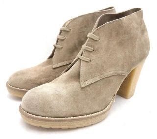JCrew $228 MacAlister High Heel Ankle Boots 7 Nut Shoes