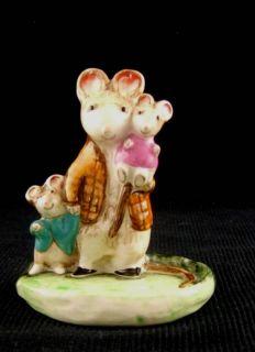 Beswick Kitty MacBride Figurine A Family Mouse 2526