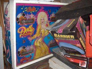 Dolly Parton Pinball Machine Bally Original RARE